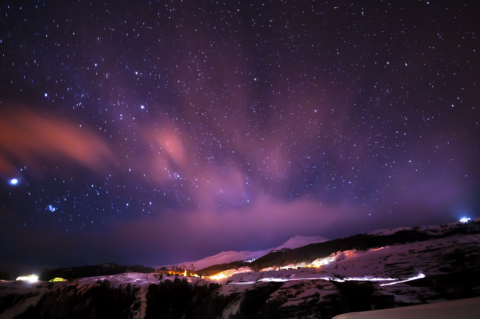 Photograph starlights behind the clouds by Armin Proschek on 500px