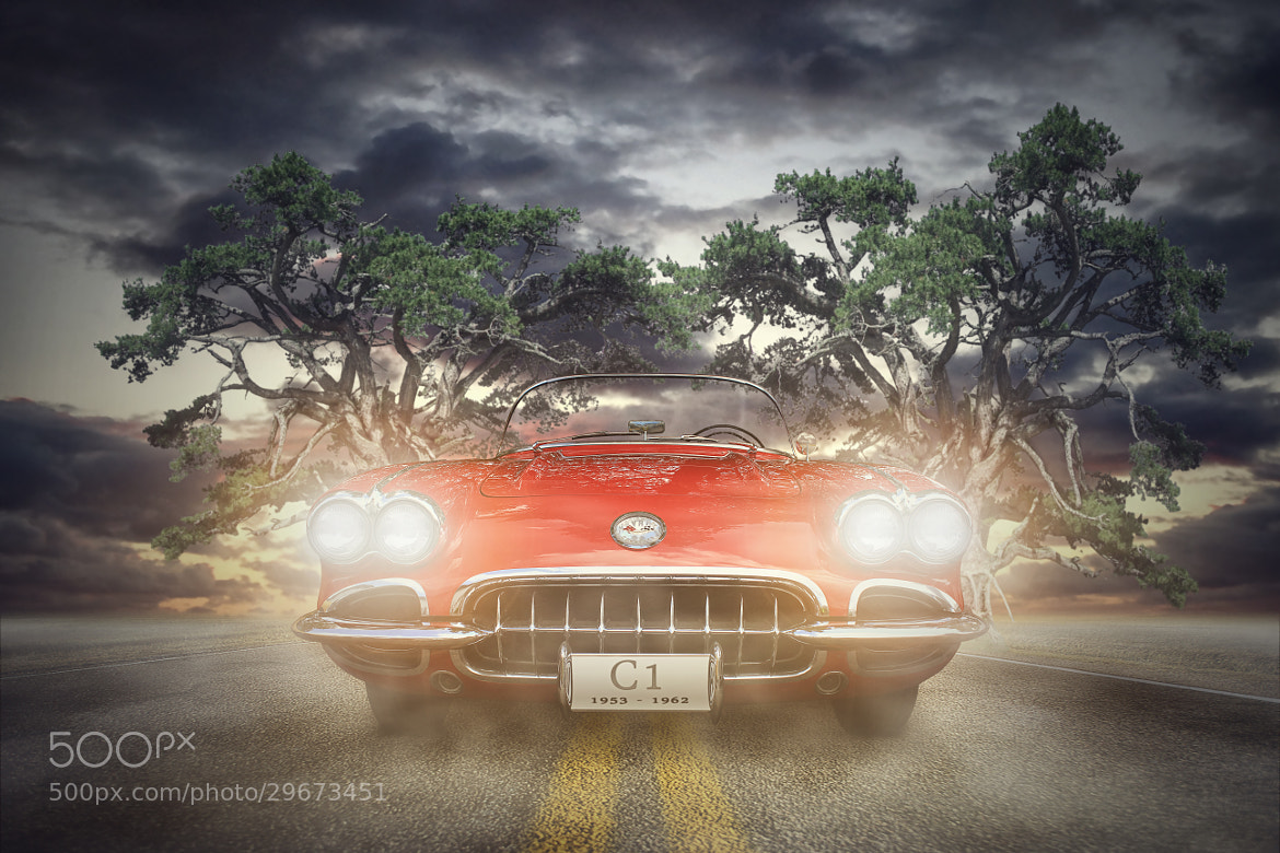 Photograph Corvette - C1 by Martin Brösamle on 500px