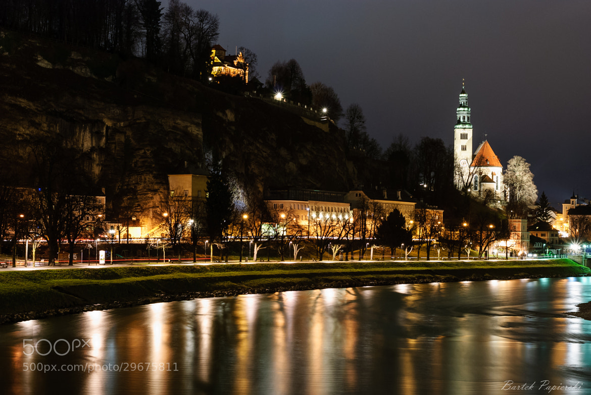 Photograph Salzburg by night by Bartek Papierski on 500px