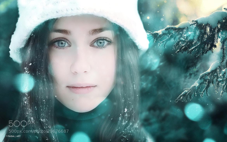 Photograph Snow Angel by FAISAL | ART  on 500px