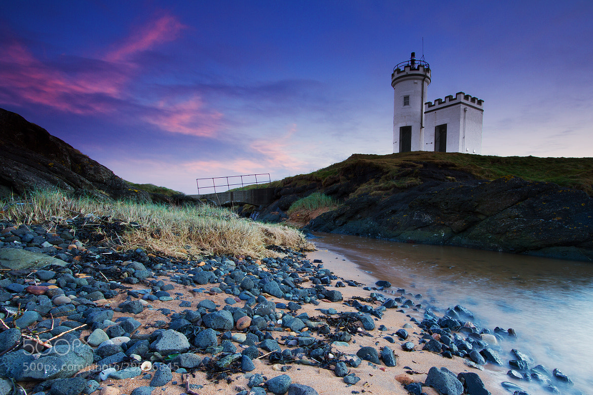 Photograph Last Light At The Lighthouse by Simon Cameron on 500px