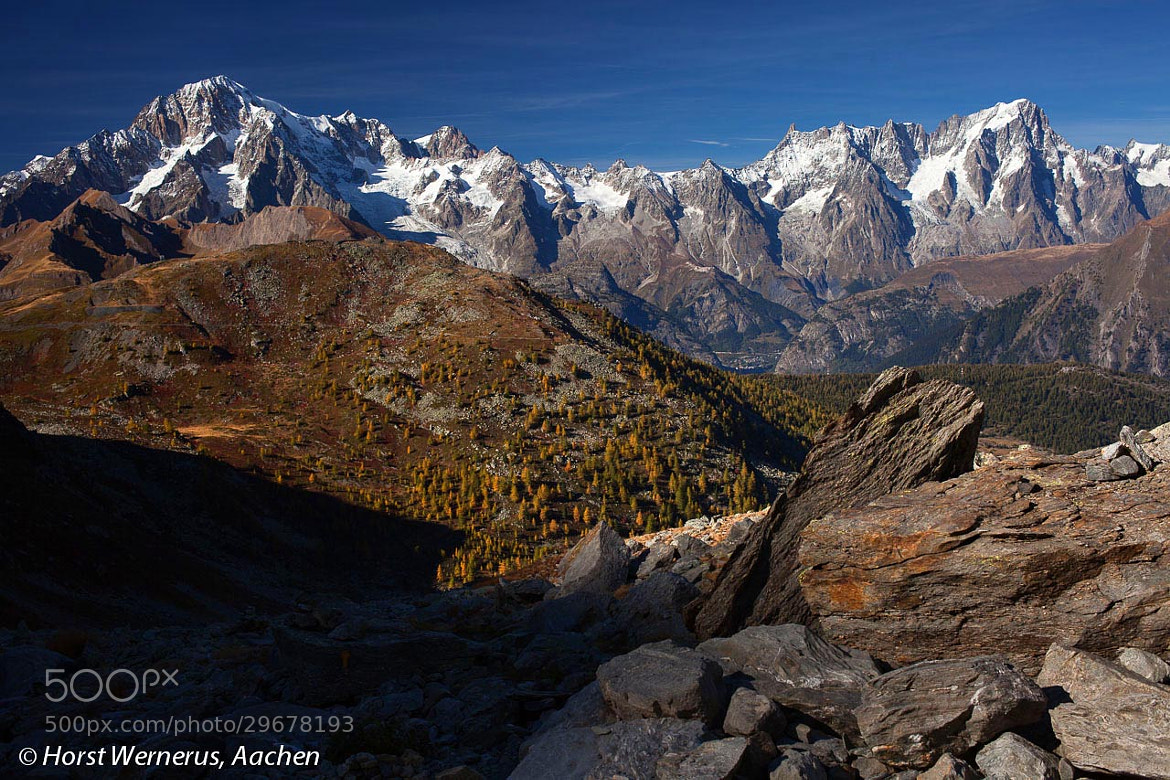 Photograph Mont Blanc Masiv by Horst Wernerus on 500px