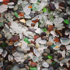 """Sea Glass Beach, this was the """"sand."""" by Rebecca Kirstin  on 500px.com"""
