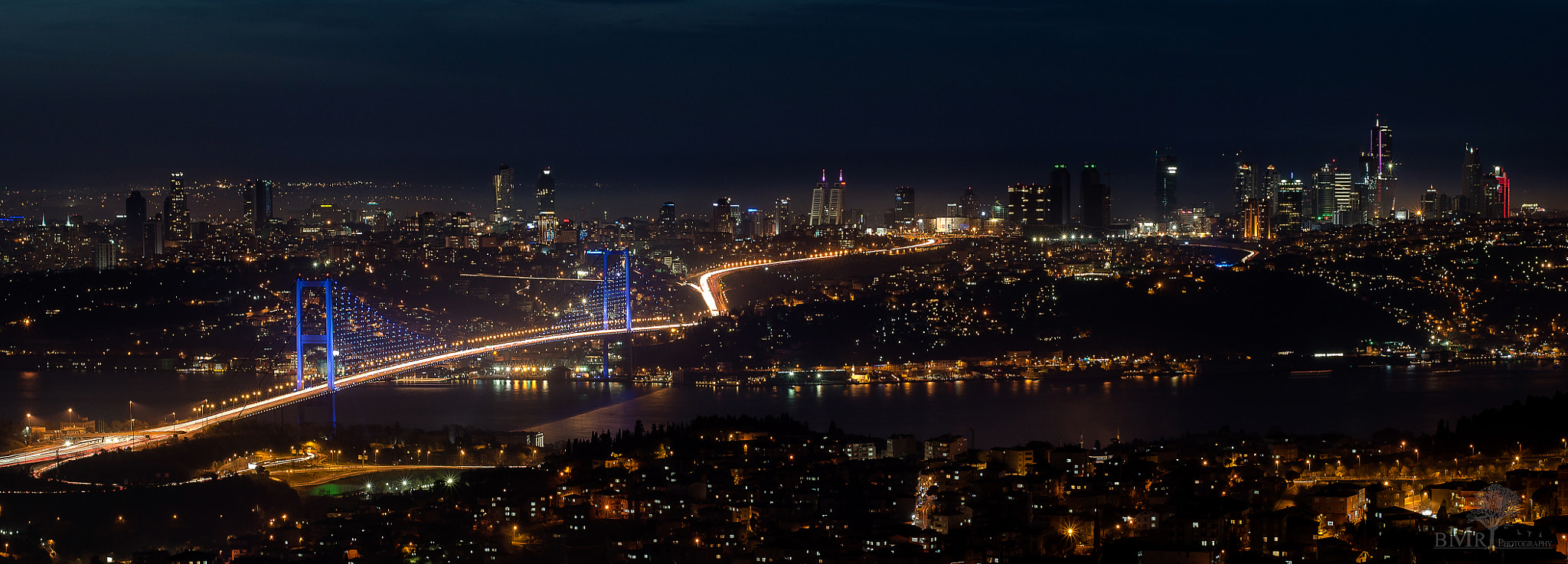 Photograph Istanbul @night by Christian von Travelography on 500px