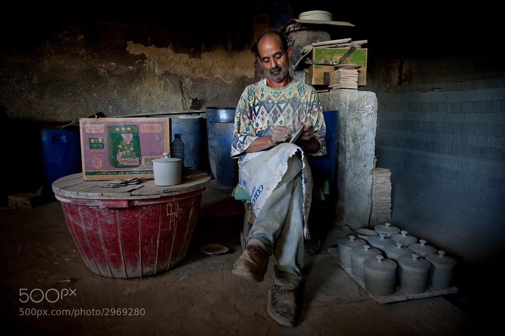 Photograph Man at work by Jure Kravanja on 500px