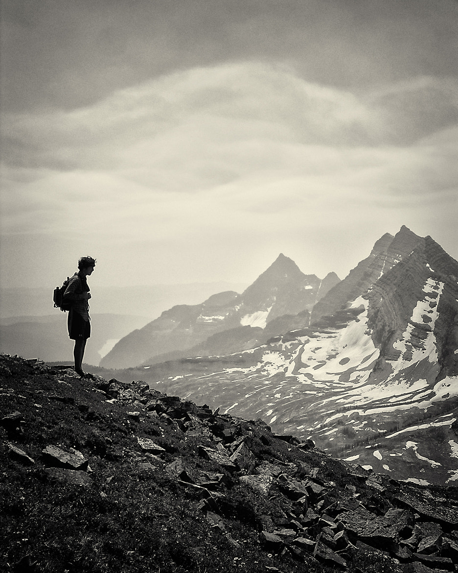 Photograph The hiker ... by Mark Hufstetler on 500px