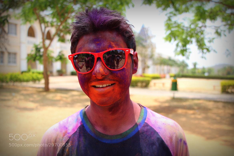 Photograph Holi ;) by Nishul Jain on 500px