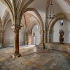 The Cenacle, also known as the Hall of the Last Supper or the Upper Room, is the site at which Jesus held the Last Supper with his disciples in the days leading up to his arrest and crucifixion.  It is located on Mount Zion just outside the walls of the Old City of Jerusalem.  We visited the Cenacle during my second visit to the Old City of Jerusalem, where I captured this image and a few other views of the interior of the gothic structure.