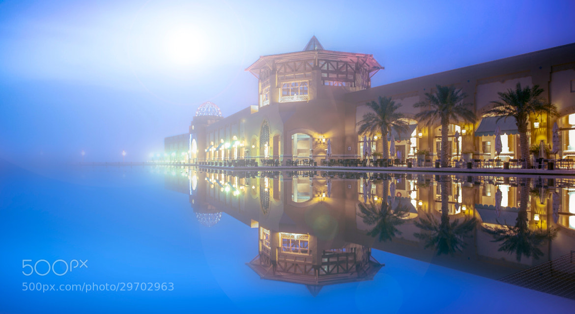 Photograph Reflction in blue hour by bohindi abdulla on 500px