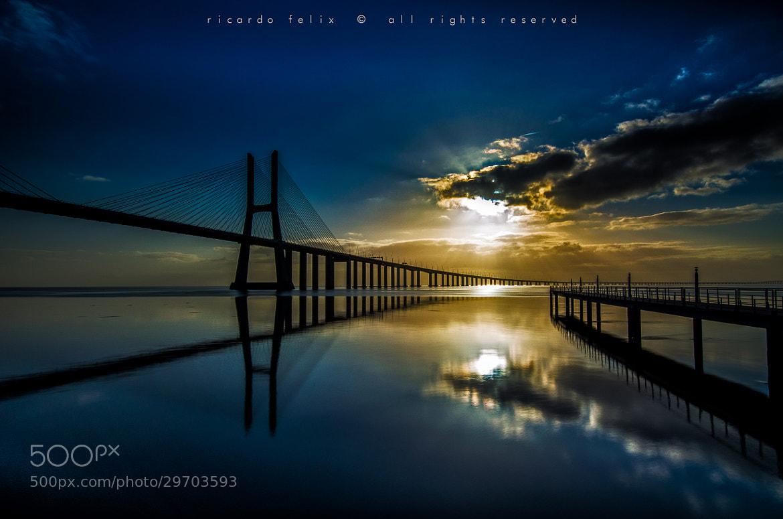 "Photograph ""Vasco da Gama"" Bridge #12 by Ricardo Bahuto Felix on 500px"