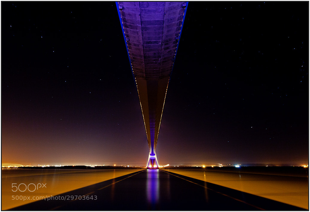 Photograph under the nightbridge  by wim denijs on 500px