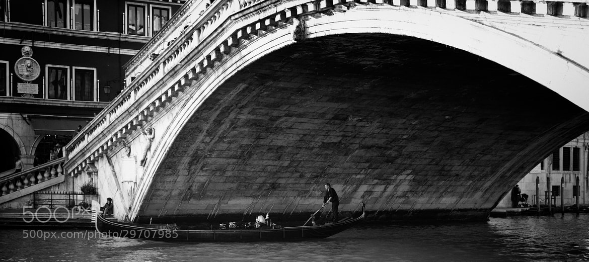Photograph Gondolier by Nick Sarnoff on 500px