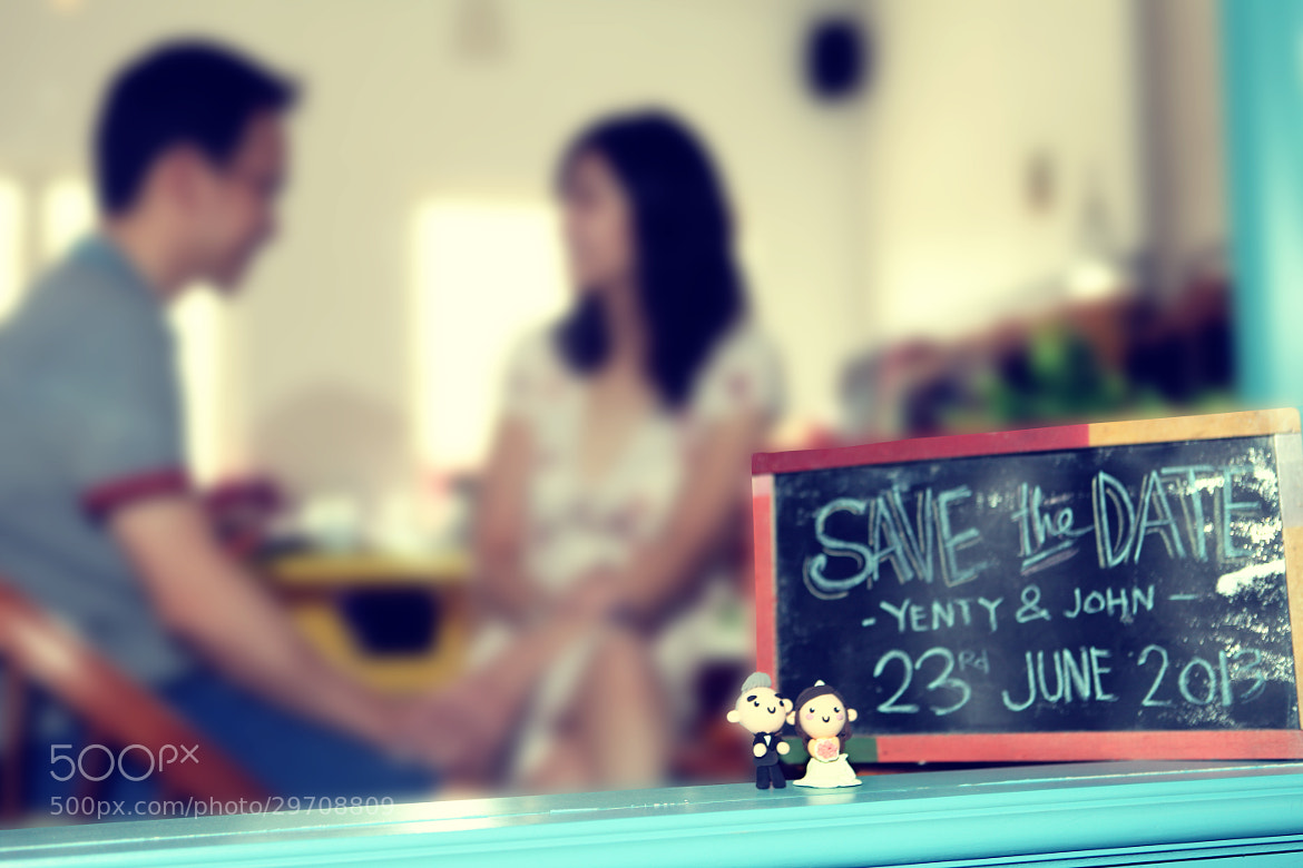 Photograph Save the date by Hendi Ko on 500px