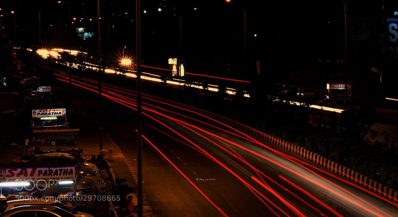 Photograph Gaurav Path  - Light Trails part 2 by Joy Vansia on 500px