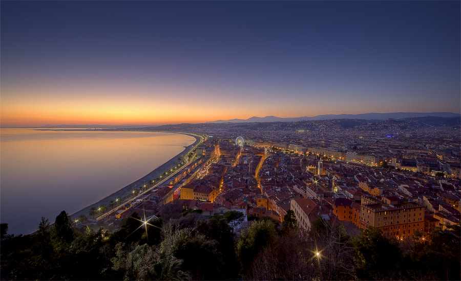 Photograph Good Night, Nice by Rainer Brunotte on 500px