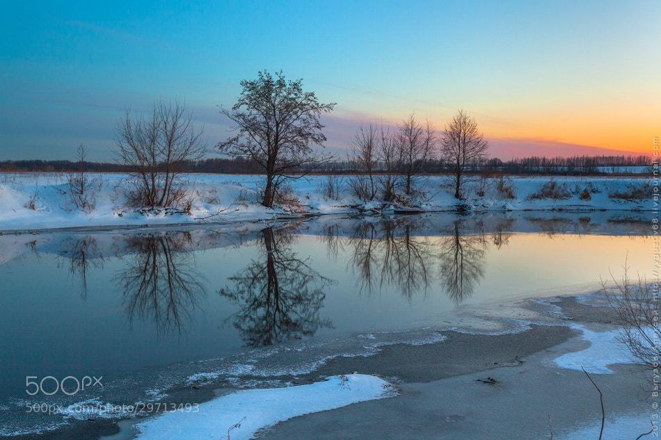 Photograph Blue March by Alexey Vyguzov on 500px