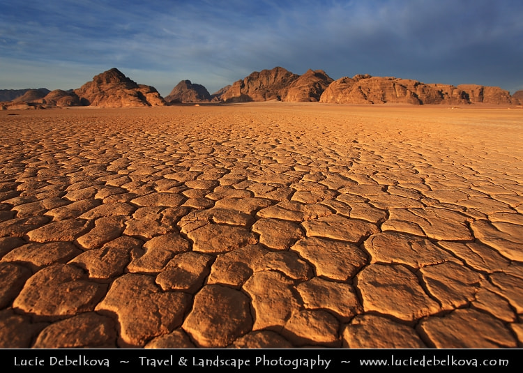 Photograph Jordan - Wadi Rum - UNESCO World Heritage Site - Spectacularly scenic desert valley at morning light by Lucie Debelkova -  Travel Photography - www.luciedebelkova.com on 500px