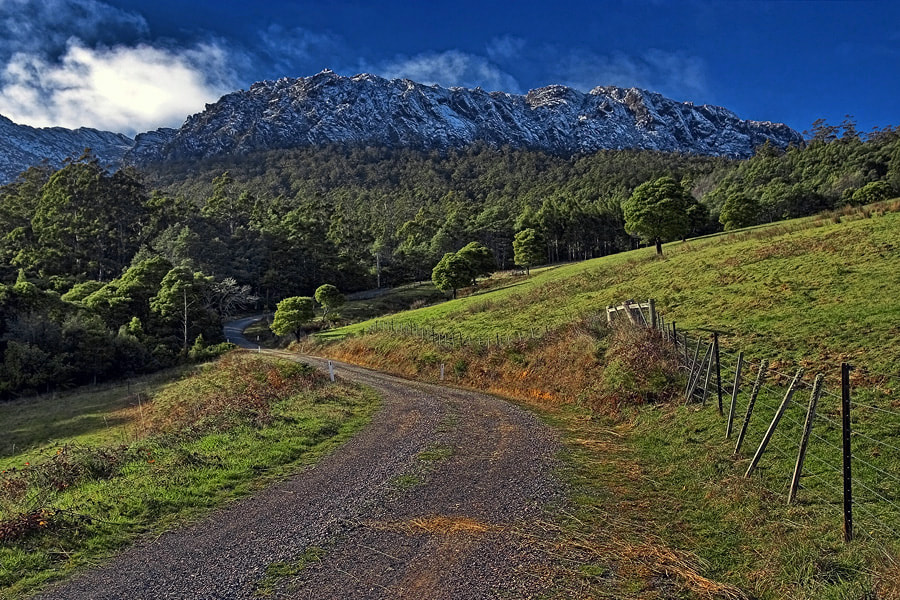 Photograph Mount Roland from O'Neills Road by Peter Daalder on 500px