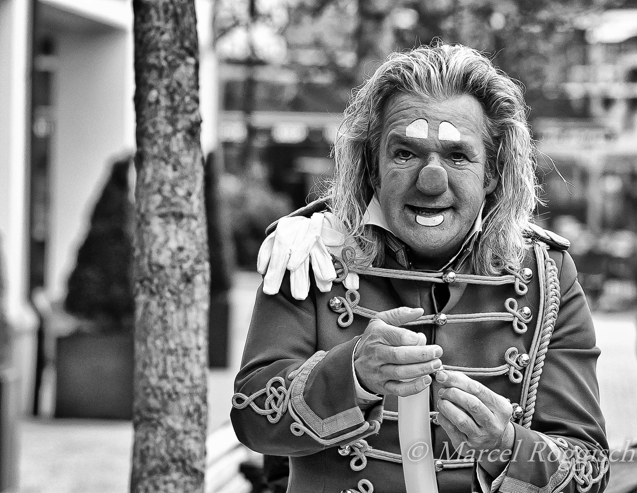 Photograph The Clown by Marcel  Roggisch on 500px