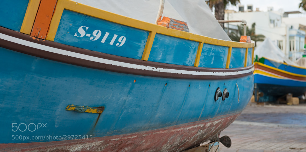 Photograph Fishing boat in Malta by Jeremy Smith on 500px