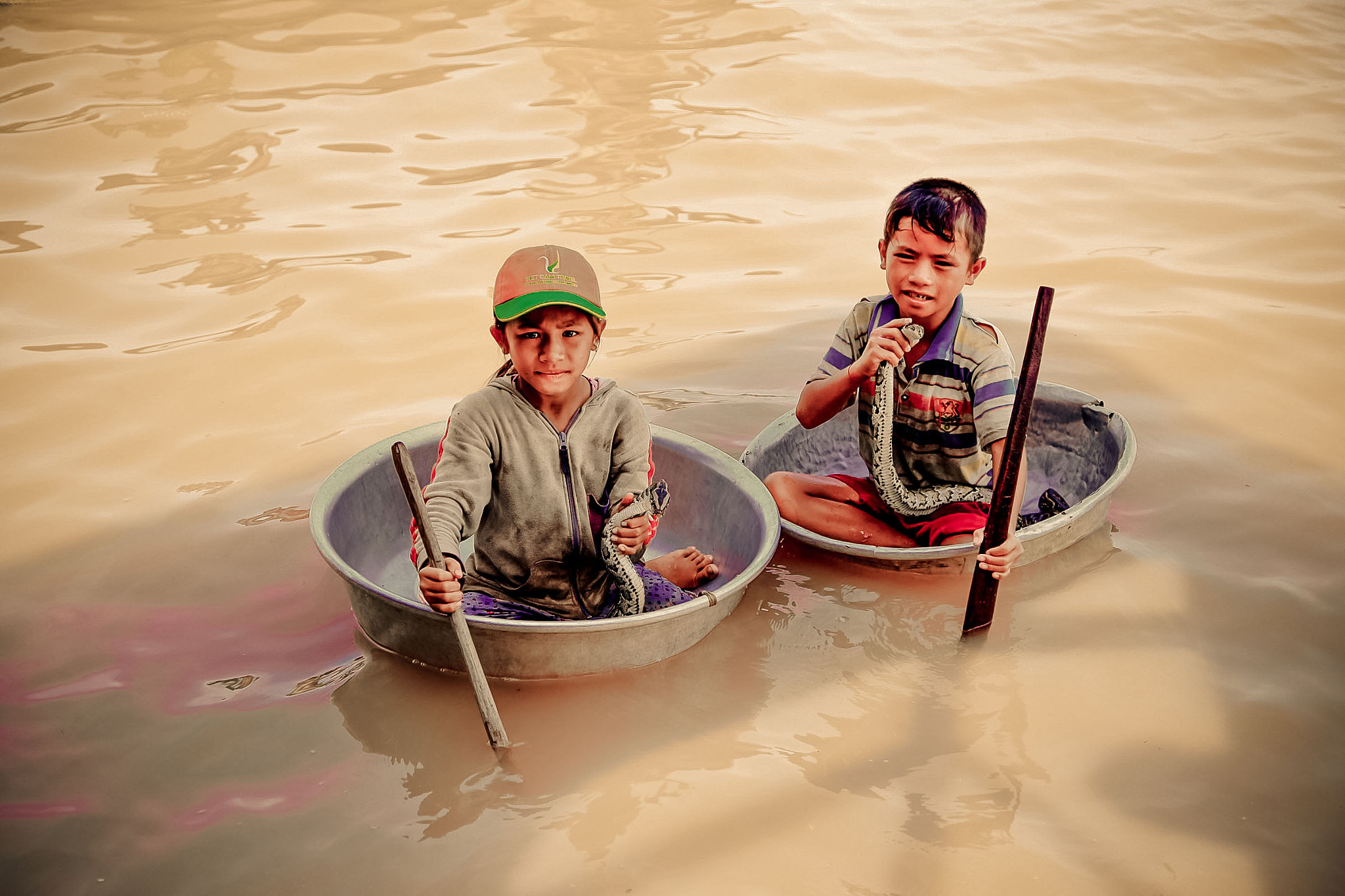 Photograph Floating Snake Charmers by Mahesh Krishnamurthy on 500px