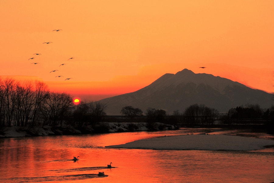 sunset by shoji uno on 500px.com