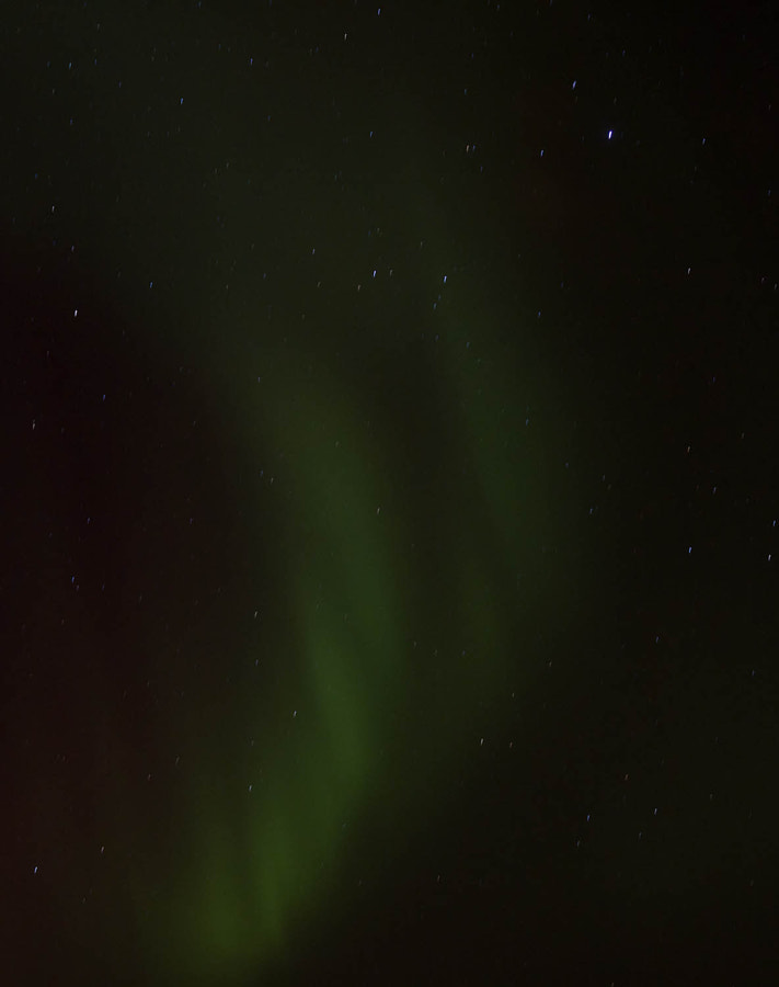 Northern Lights taken at about 10pm.