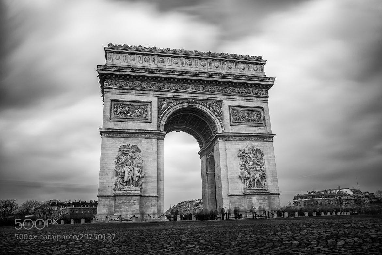 Photograph Arc De Triomphe by Farouk Cherchali on 500px