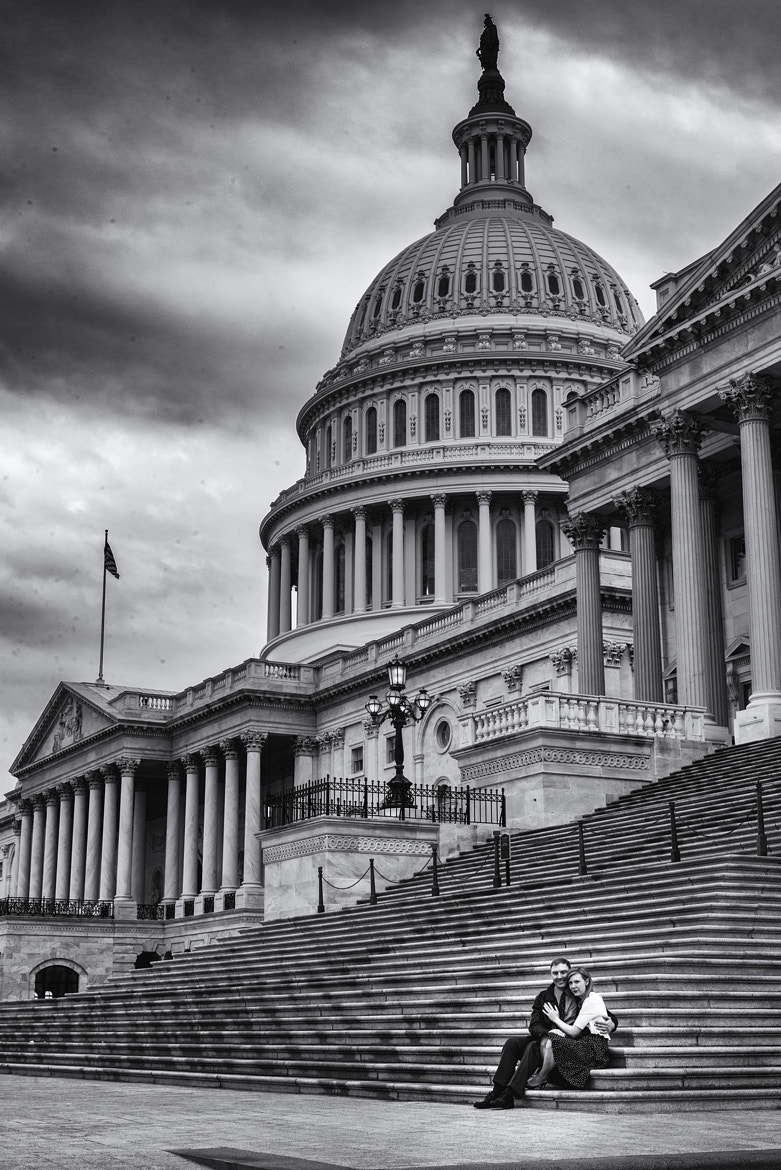 Photograph On The Steps of The Capitol by Chris and Brandy Gronde on 500px