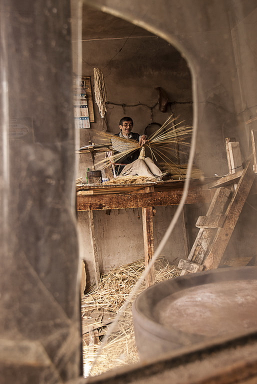 Photograph Broom maker from the broken window by Okan YILMAZ on 500px