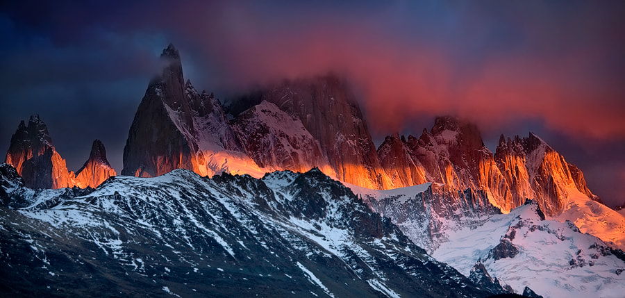 Photograph Awakening of Fitz Roy by samuel FERON on 500px