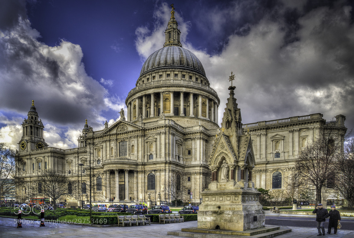 Photograph St Paul's Cathedral London by Mark Shoesmith on 500px