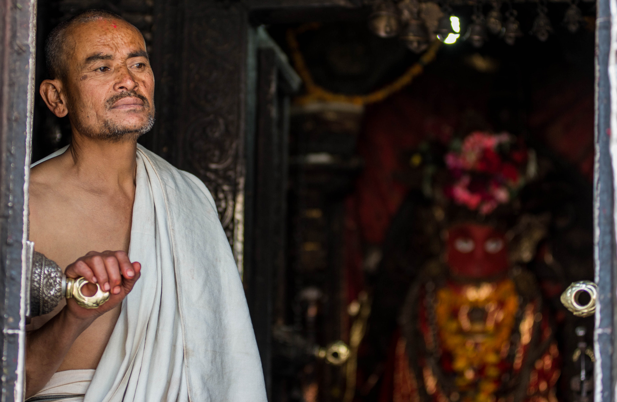 Photograph Life of a Priest  by Sangesh Shrestha on 500px