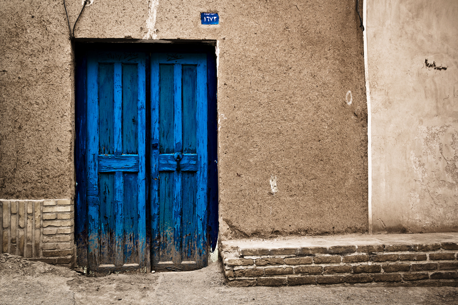 Photograph Blue Door  by Shahram  Mirkhani on 500px