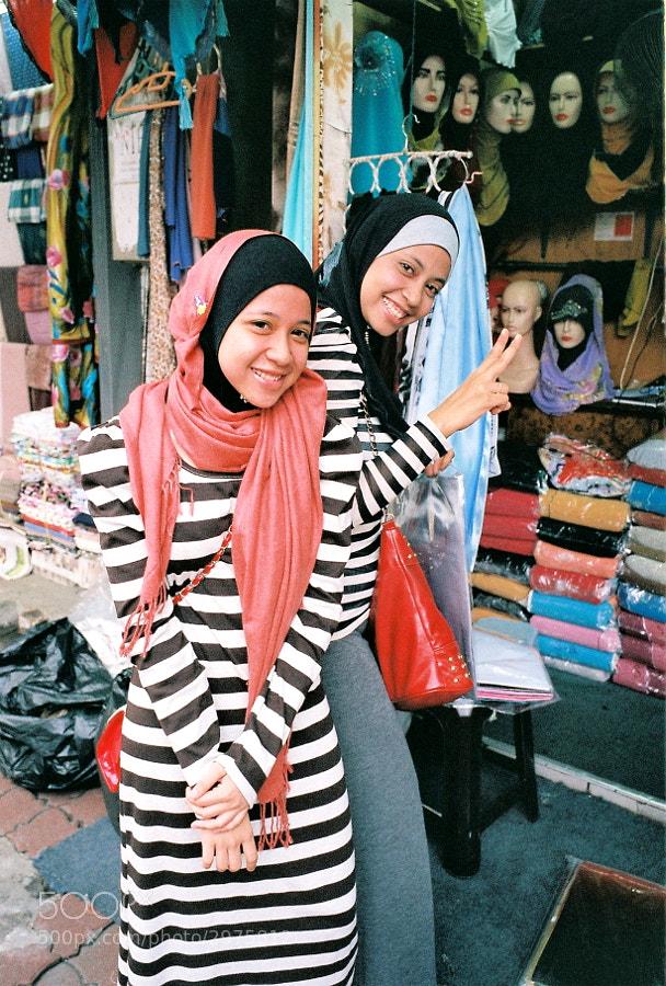Street vendor at Masjid India Street, Kuala Lumpur, Malaysia.