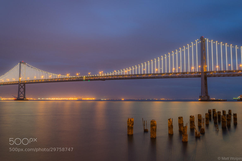 Photograph Bridge Lights. by Matt Wolpin on 500px