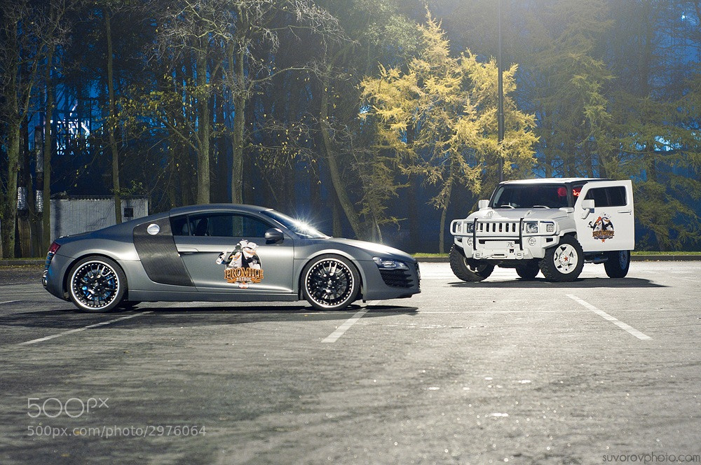 Photograph R8 & H3 Promile Patrol by Alexander Suvorov on 500px