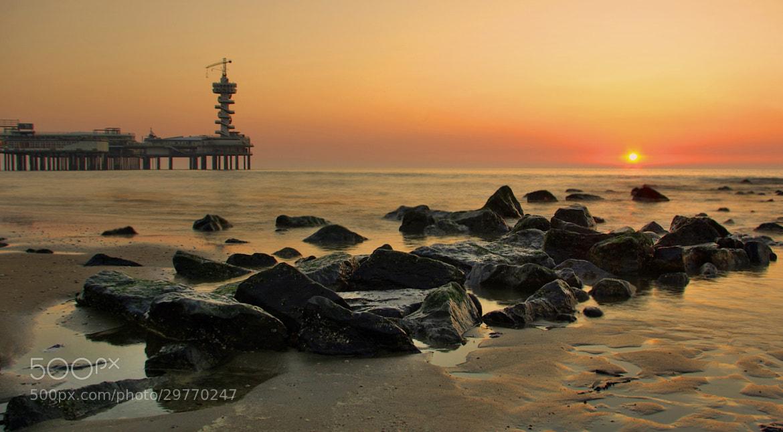 Photograph Sunset in Scheveningen by Bogdan's travel clicks on 500px