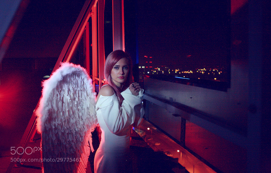 Photograph Night angel by Kiril Stanoev on 500px