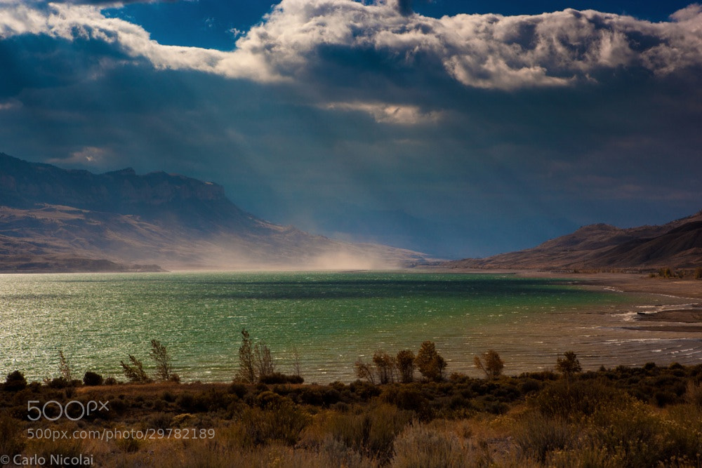 Photograph Wind Clouds and Sun by carlonic on 500px