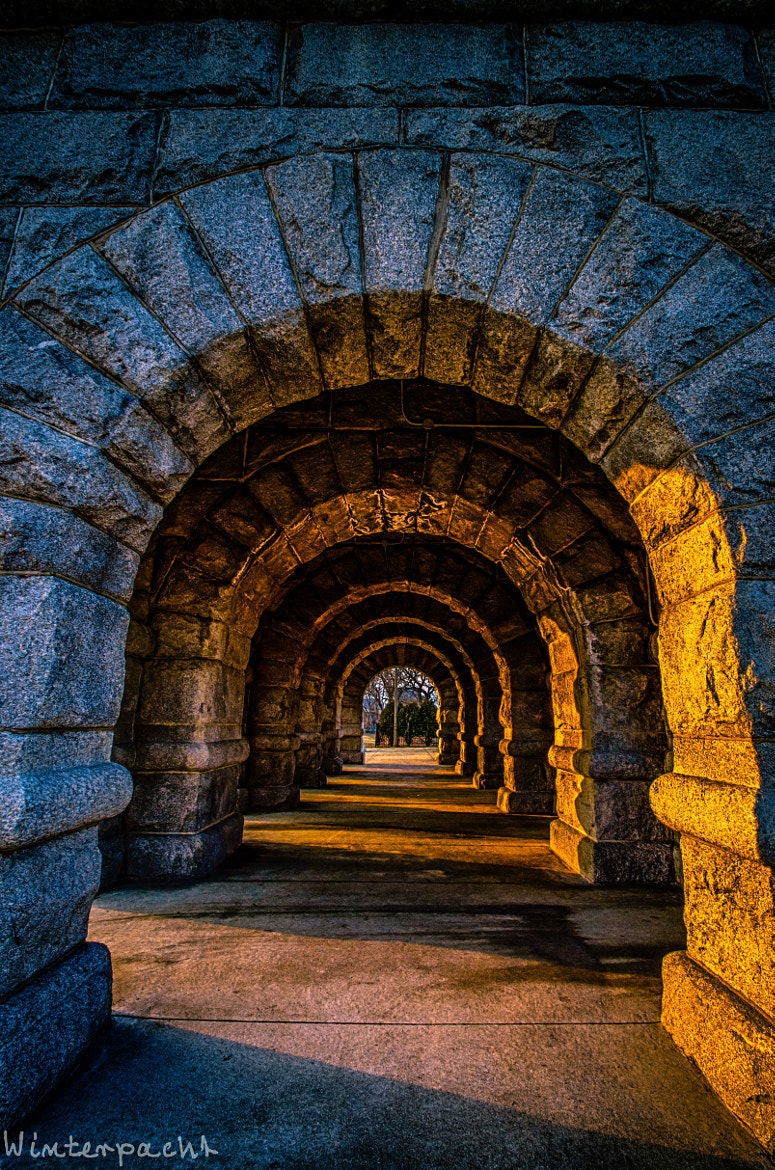 Photograph Stone Arches by Raf Winterpacht on 500px