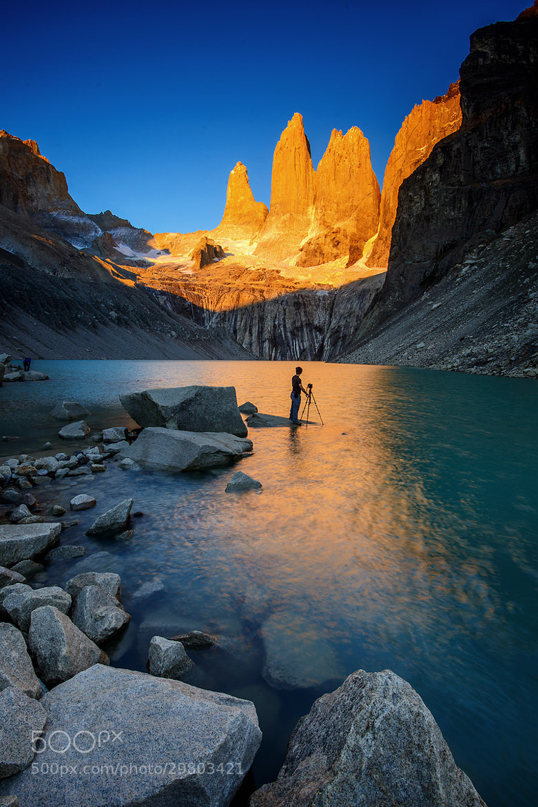 Photograph The Towers from Torres del Paine by Pete Wongkongkathep on 500px