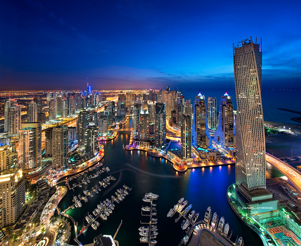 Photograph Dubai Marina by Daniel Cheong on 500px