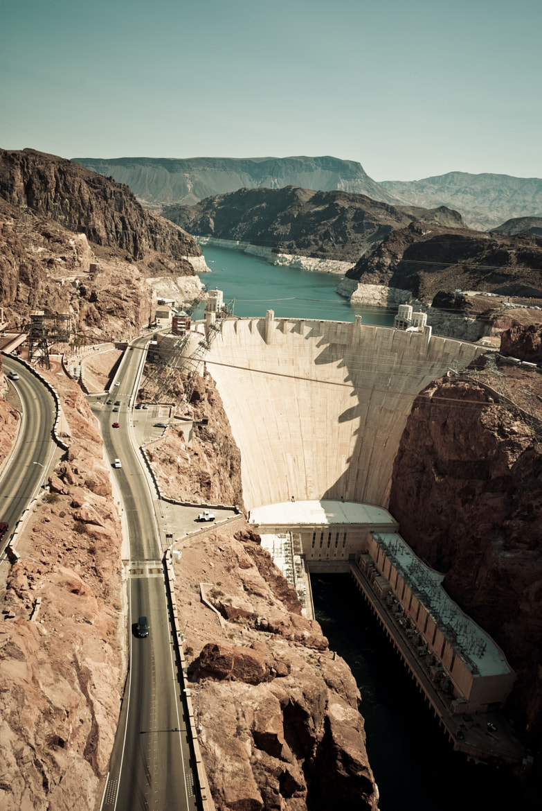 Photograph Aerial view of Hoover Dam by Alex Seagull on 500px
