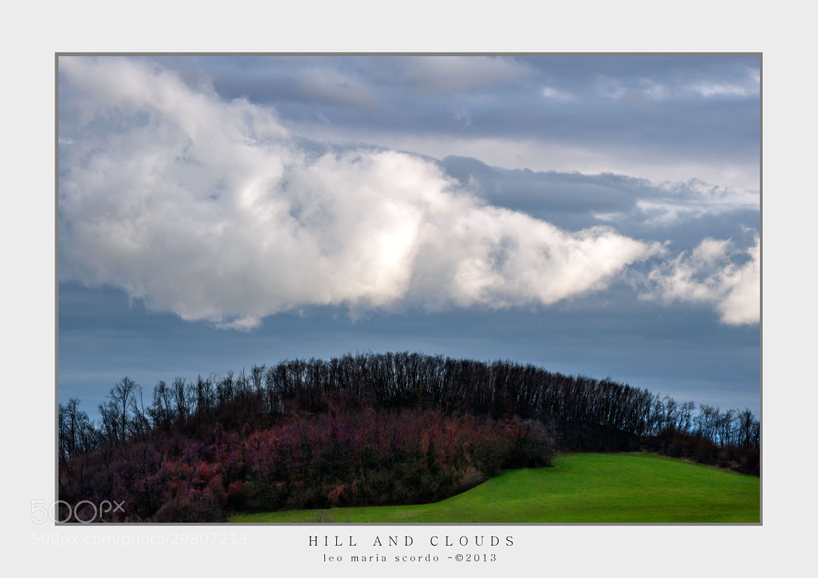 Photograph HILL AND CLOUDS by Leo Maria Scordo on 500px