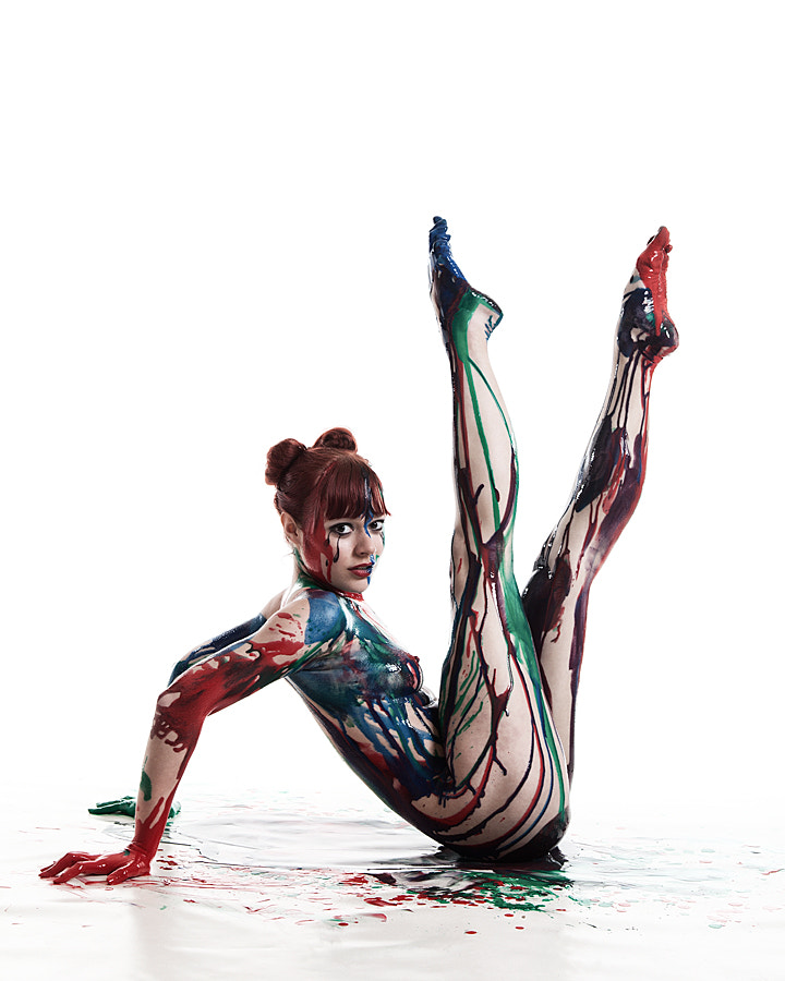 Photograph The Painted Ballerina by Donald Gibbs on 500px