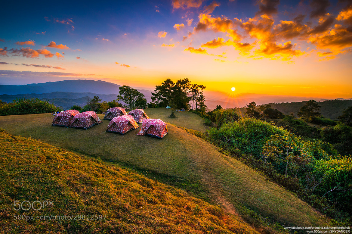 Photograph Tents City by SKYDANCER ! on 500px