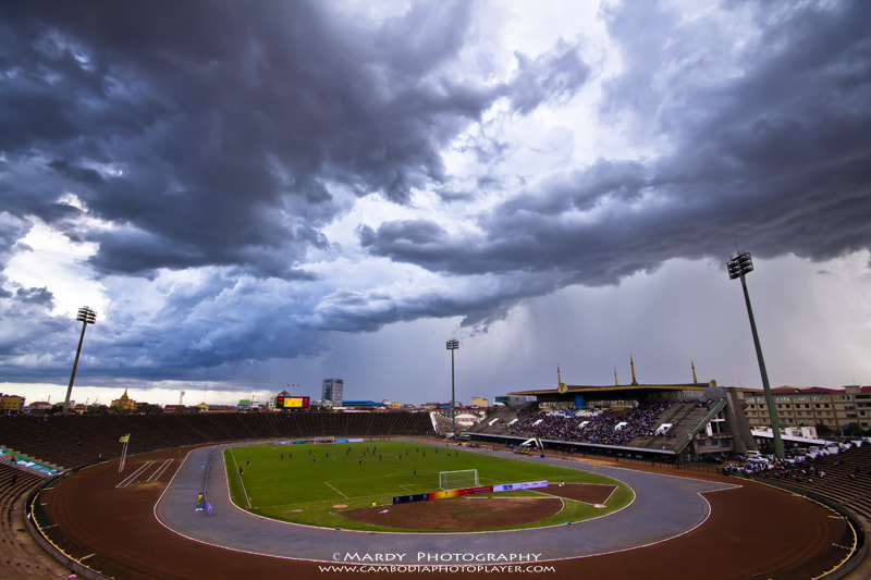 Photograph Angry Sky at Olympic Stadium! by Mardy Suong Photography on 500px