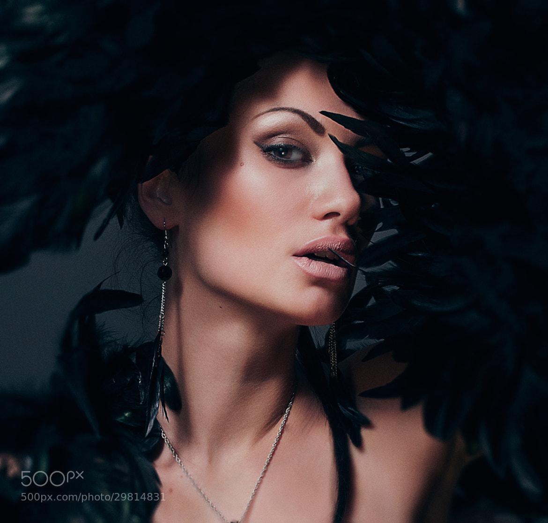 Photograph Crow by Roxana Konyuk on 500px