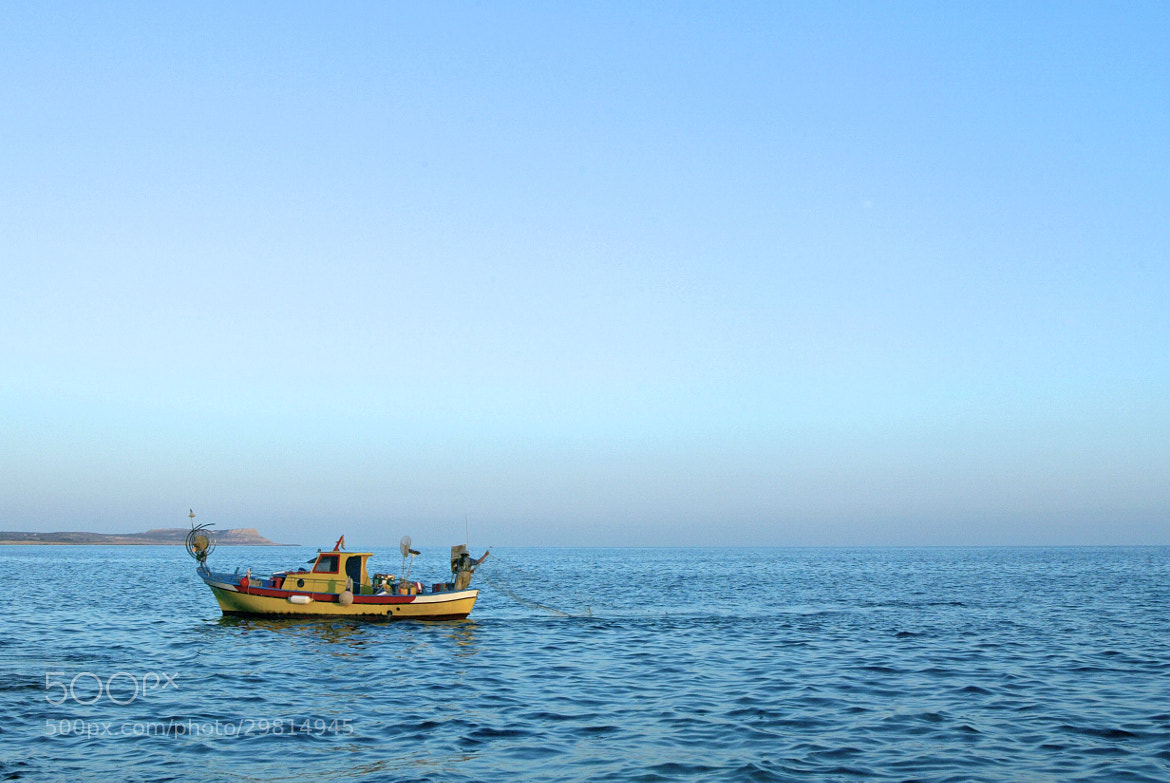 Photograph Fisherman in Cyprus by Jan-Petter Dahl on 500px